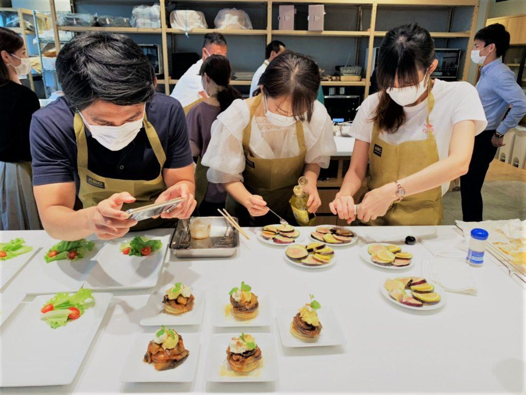 เรียนทำอาหารในโอซาก้าที่ ABC Cooking Studio
