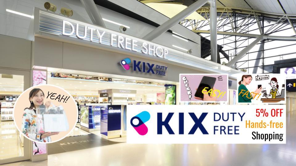 Smart Shopping with KIX Duty Free Pre-Order