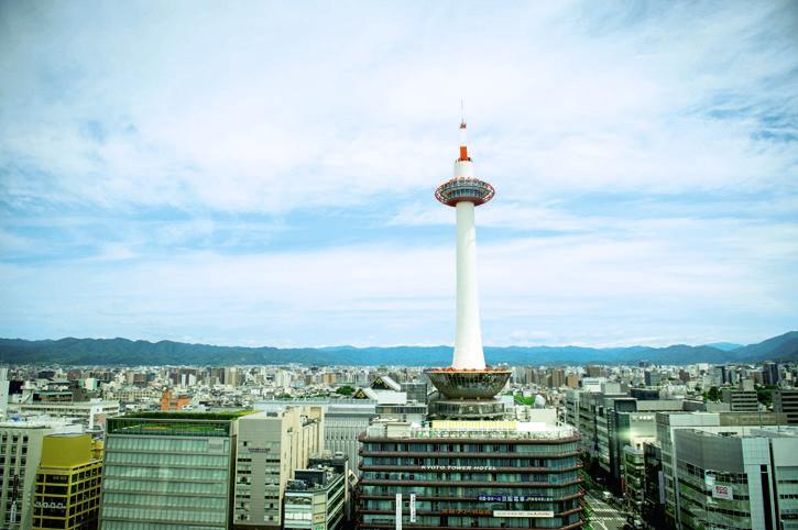 เที่ยวเกียวโตทาวเวอร์ด้วยตัวเอง