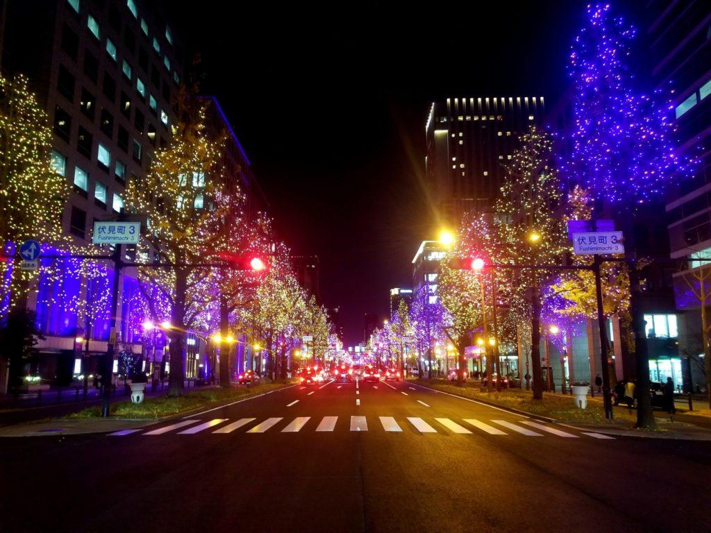 เทศกาลดูไฟ Osaka Illumination 2020