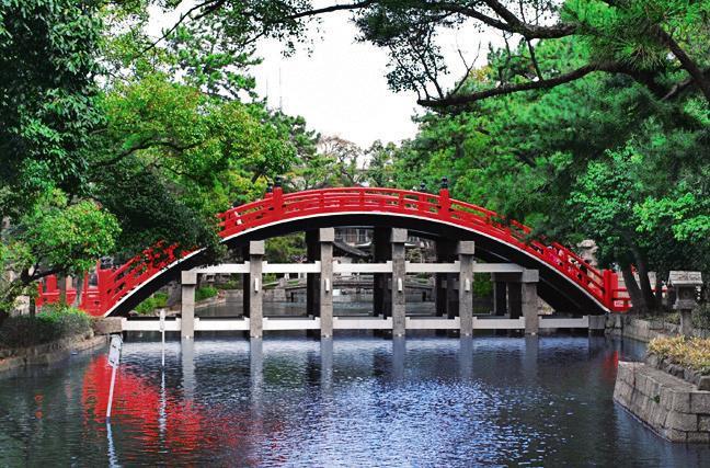 เที่ยวศาลเจ้าสุมิโยชิด้วยตัวเอง (Sumiyoshi Taisha)