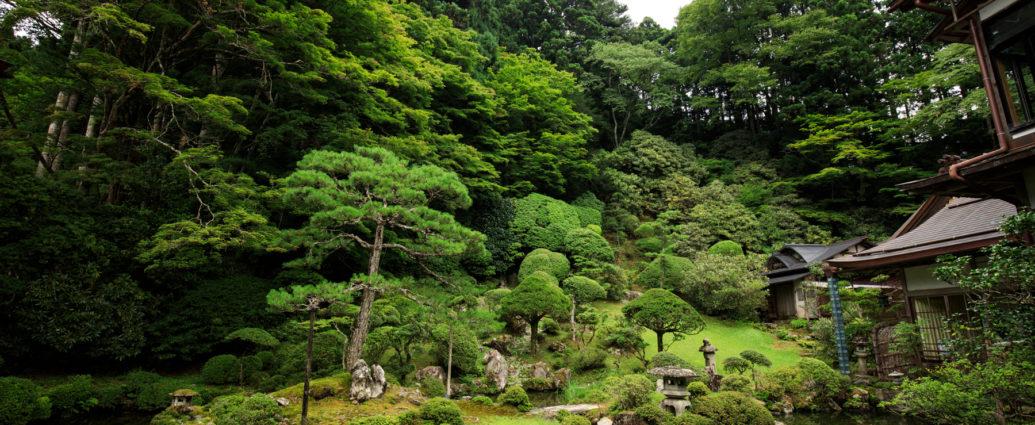 Gardens in Koyasan