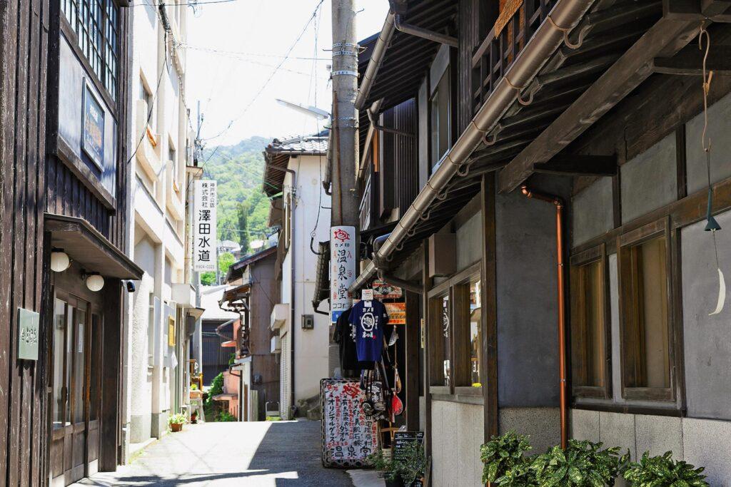 Arima Onsen Hot Spring Neighborhood