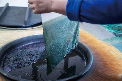 Tokushima's Handcraft: Indigo Dyeing and Cedar Chopstick