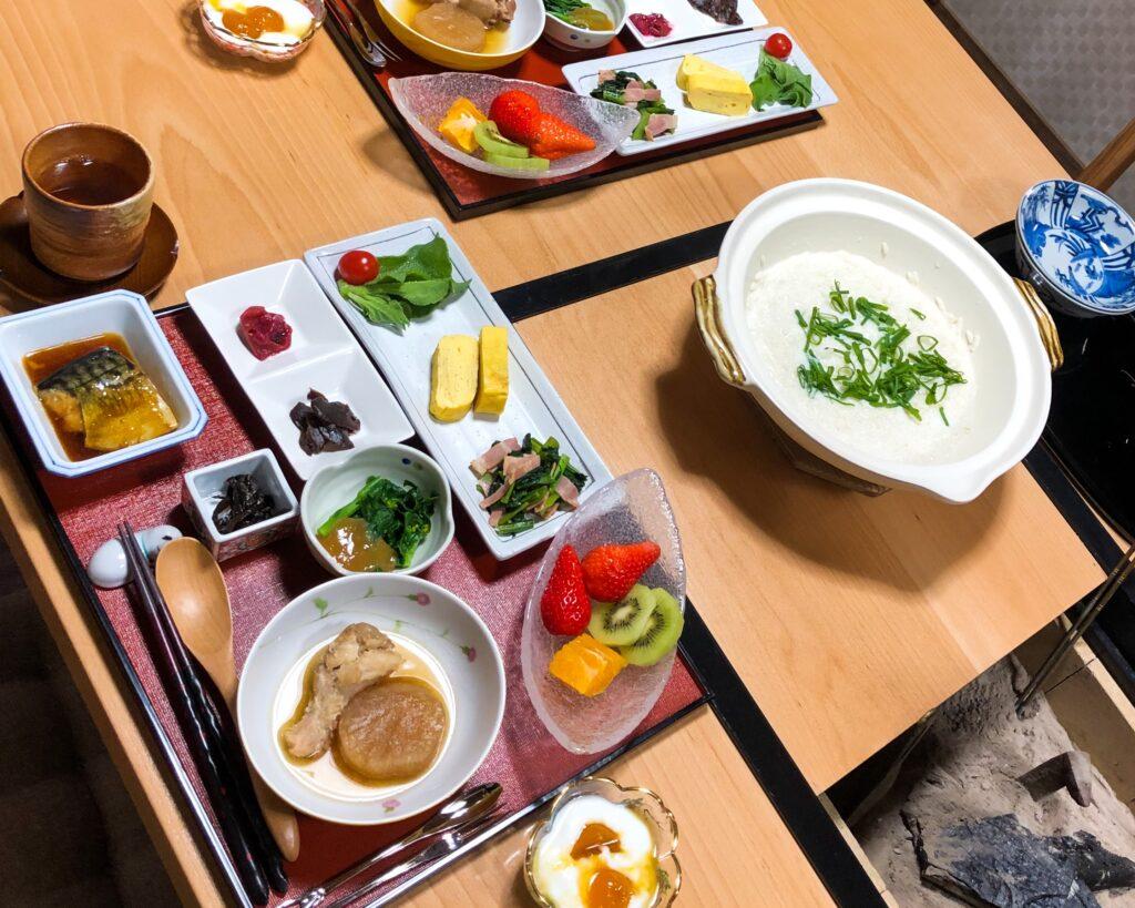 Asuka Homestay Breakfast