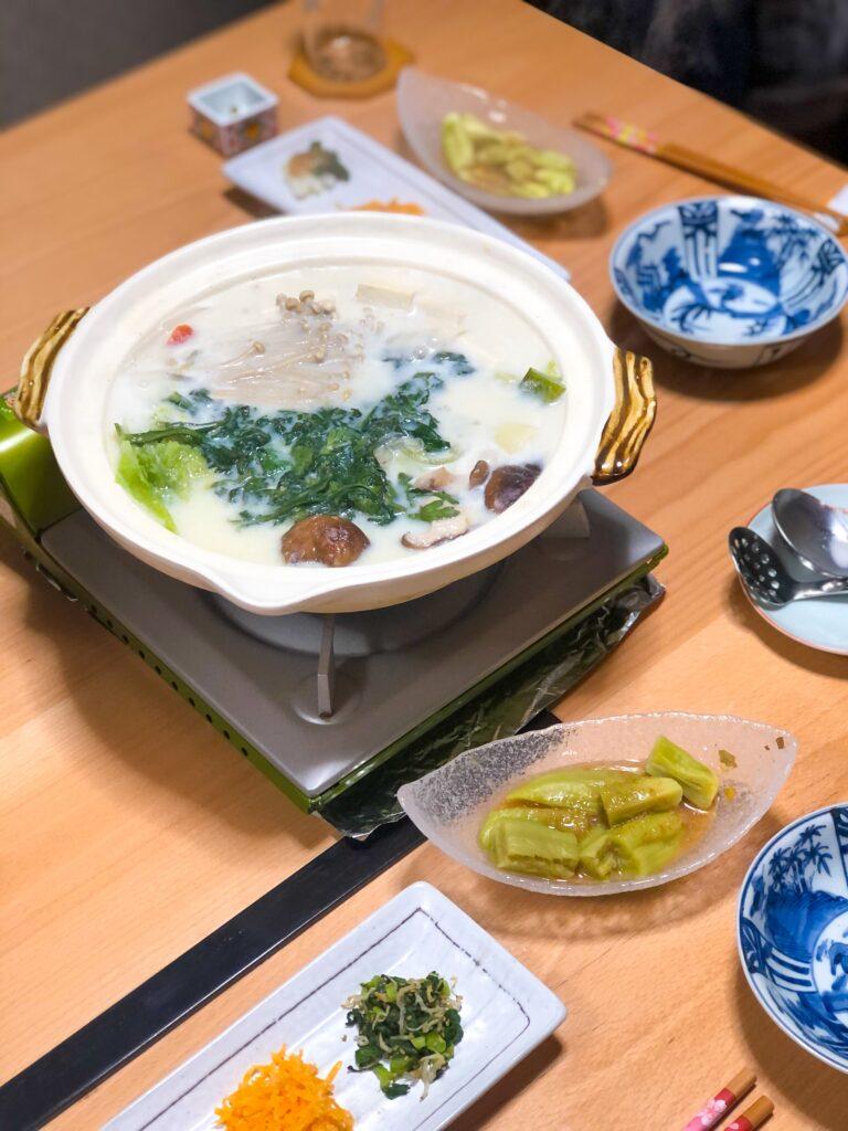 Asuka Homestay Dinner