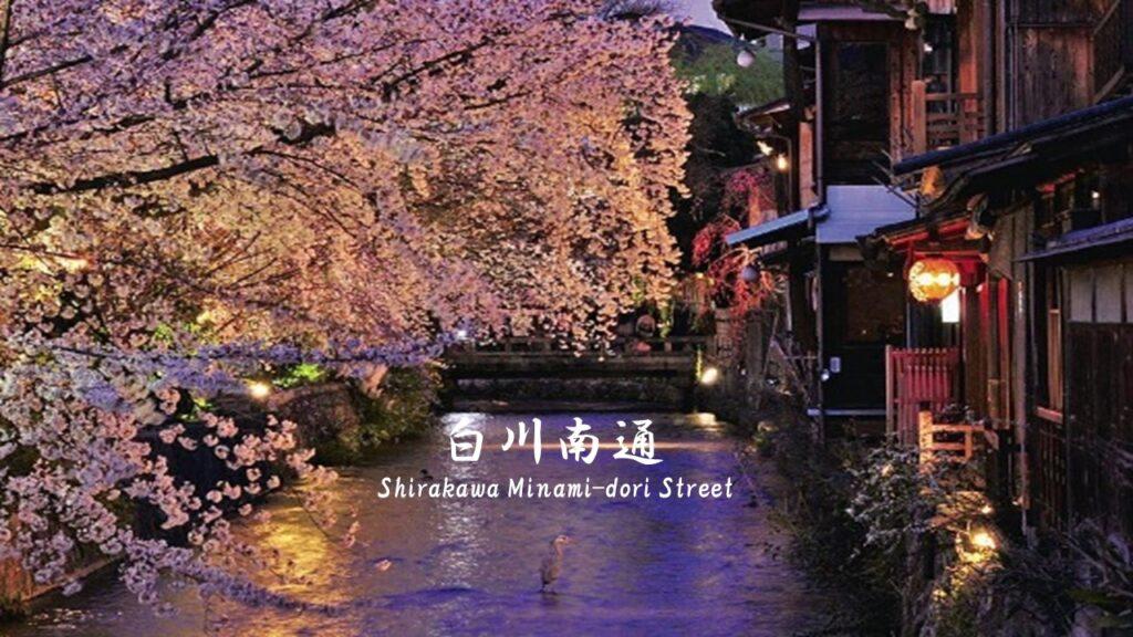 白川南通大道:京都傳統又美麗街道