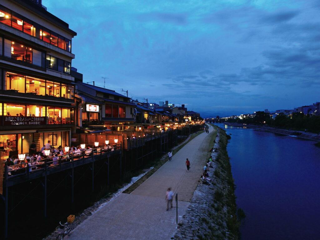 Kamogawa Evening