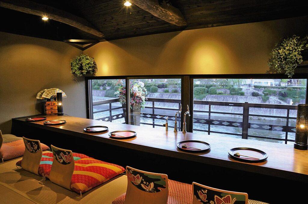 Kamogawa Restaurants Ponto-cho Fumiya